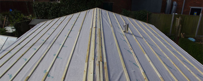 Pitched Lightweight Tiled Roofs from SH Caravans